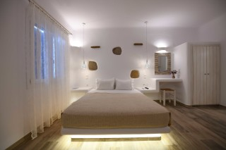 studio traditional suite stavroula double bedroom