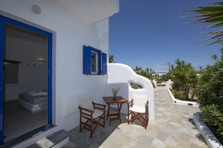 traditional double room stavroula veranda area
