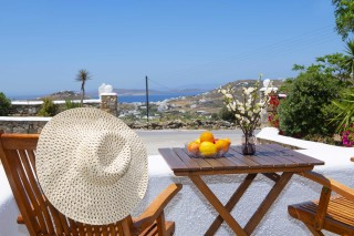 traditional double studio stavroula sea view